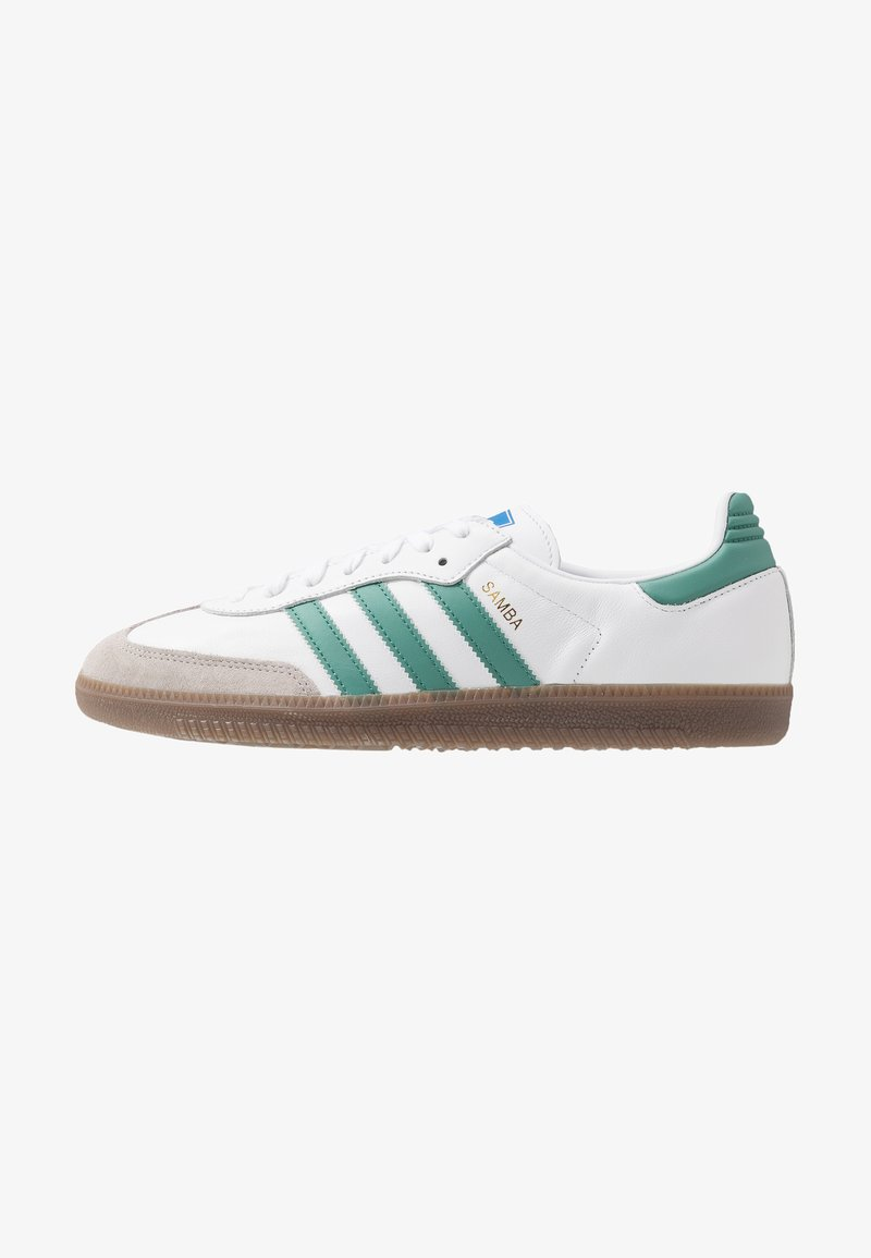adidas Originals - SAMBA - Trainers - footwear white/core grani