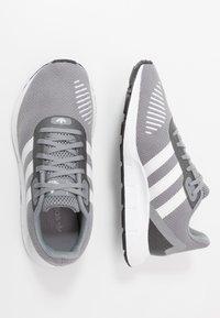 adidas Originals - SWIFT RUN - Trainers - grey three/footwear white/core black - 1