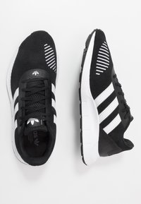 adidas Originals - SWIFT RUN - Joggesko - core black/footwear white - 1