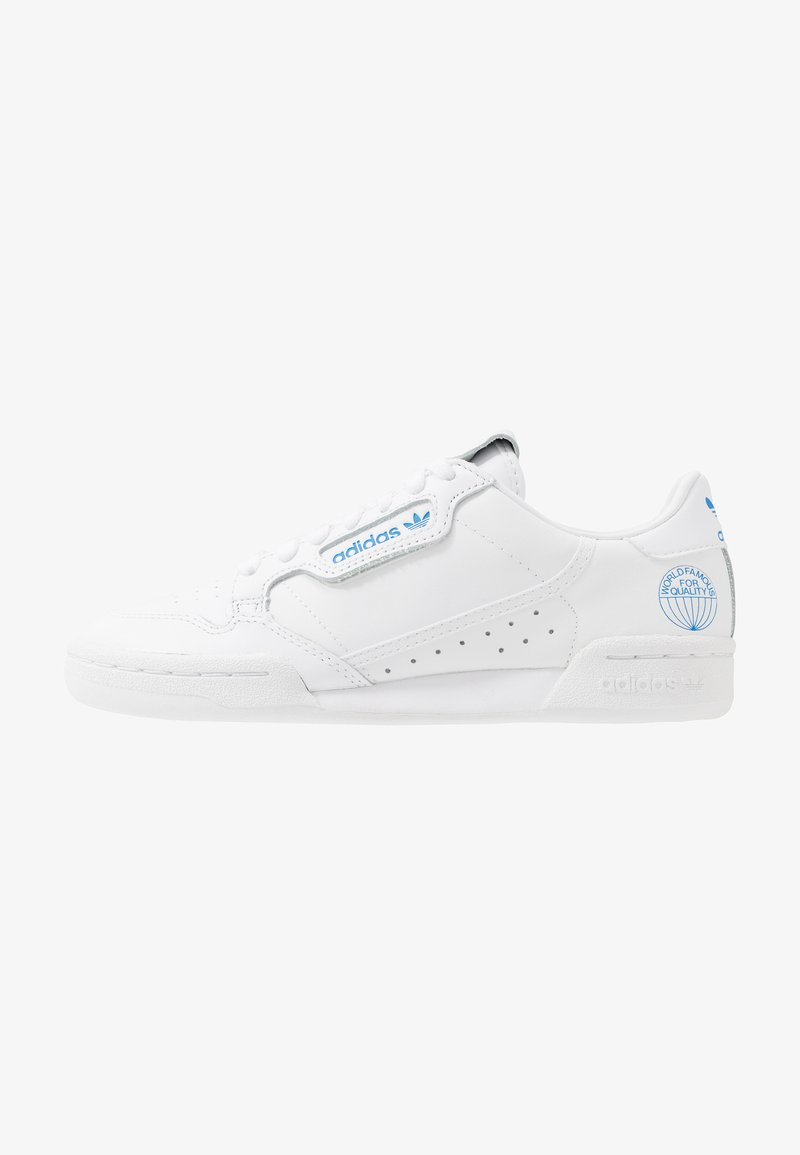 adidas Originals - CONTINENTAL 80 - Trainers - footwear white/blue bird