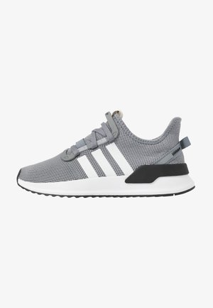 U_PATH RUN - Matalavartiset tennarit - grey/footwear white/core black