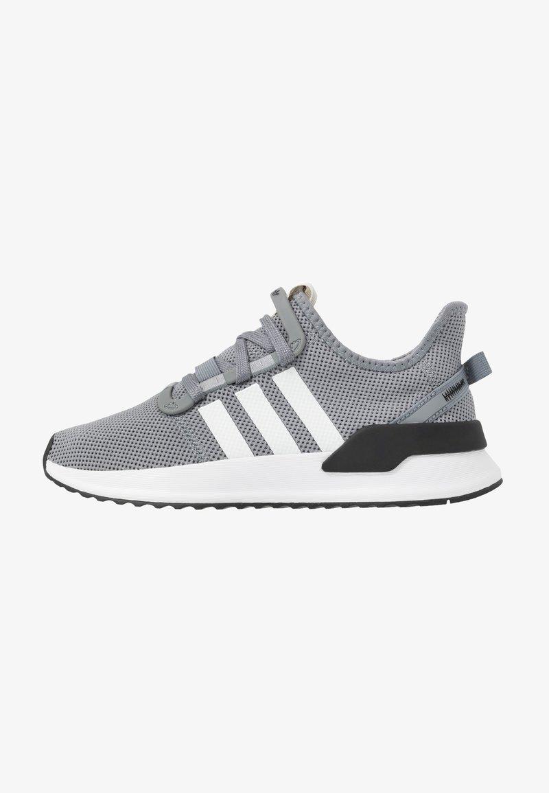 adidas Originals - U_PATH RUN - Matalavartiset tennarit - grey/footwear white/core black