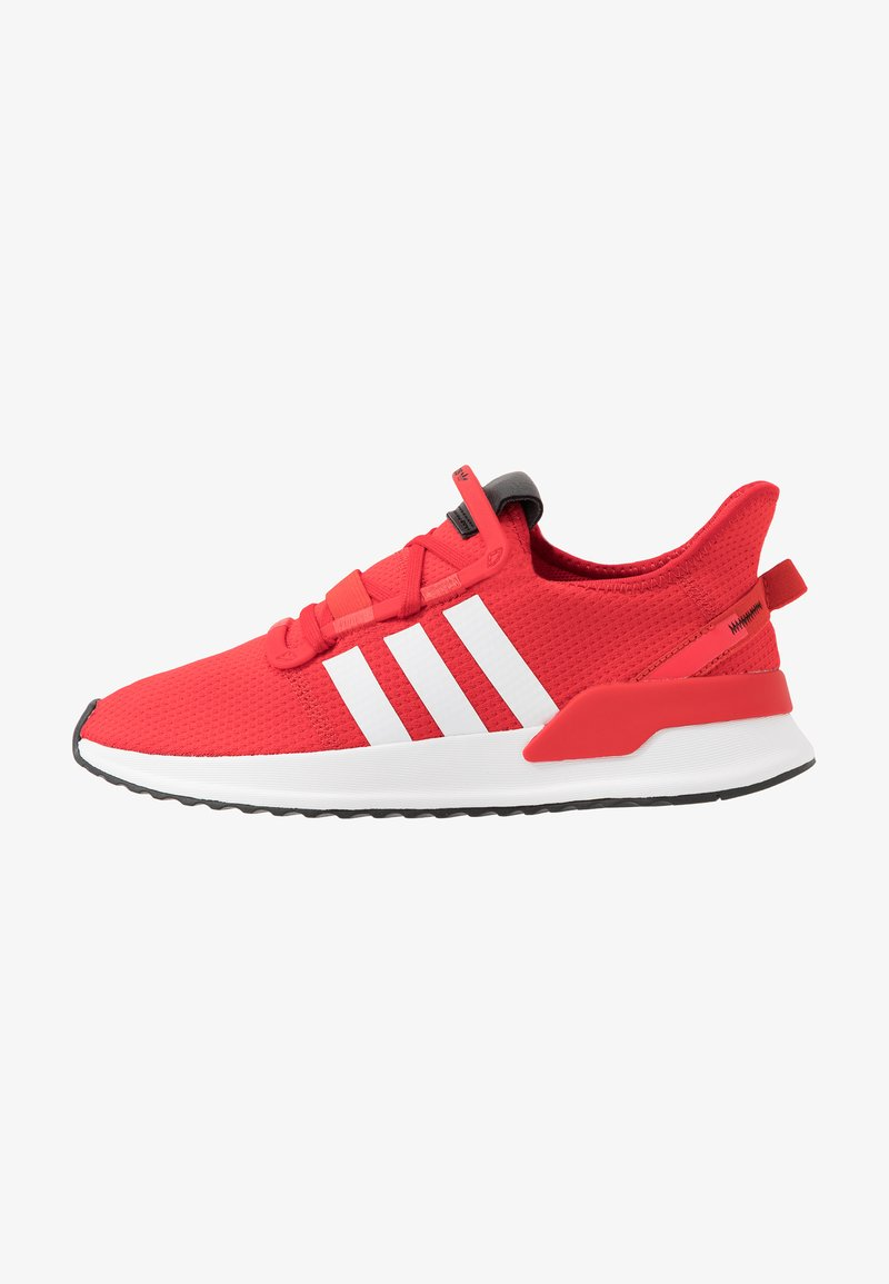 adidas Originals - PATH RUN - Joggesko - scarlet/footwear white/shock red