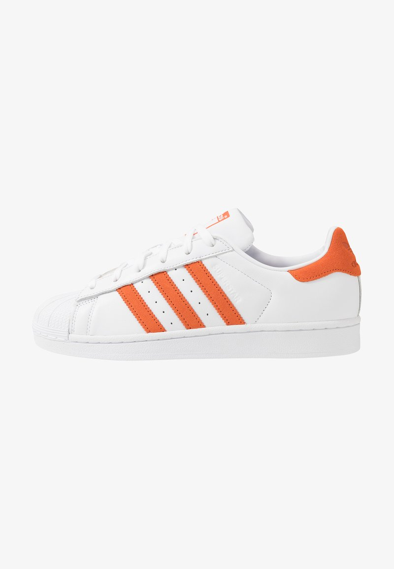 adidas Originals - SUPERSTAR - Matalavartiset tennarit - footwear white/orange