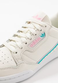 adidas Originals - CONTINENTAL 80 - Sneakers laag - offwhite/true pink/hi-res aqua - 5