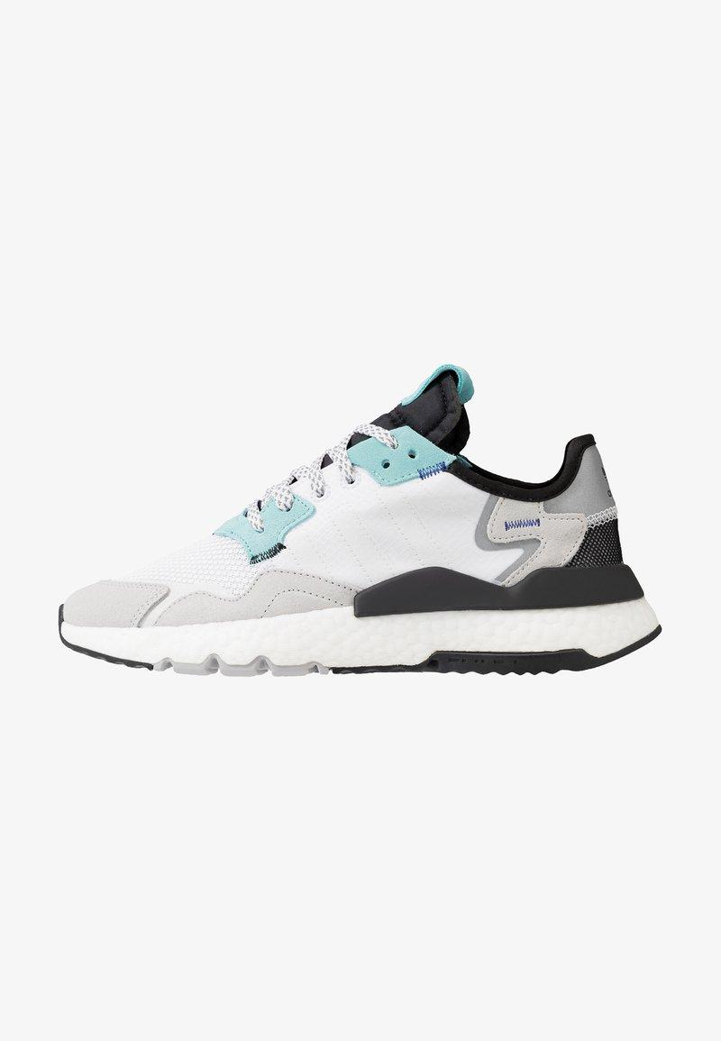 adidas Originals - NITE JOGGER - Sneakers laag - footware white/easy mint