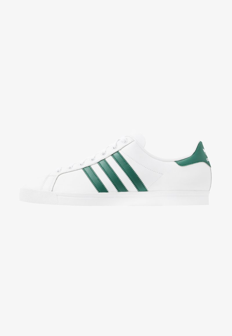 adidas Originals - COAST STAR - Trainers - footware white/collegiate green