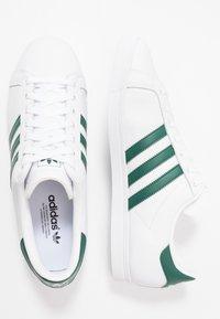 adidas Originals - COAST STAR - Trainers - footware white/collegiate green - 1