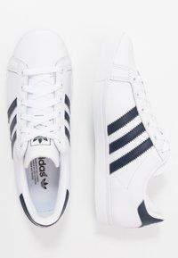 adidas Originals - COAST STAR - Sneaker low - footware white/collegiate navy - 1