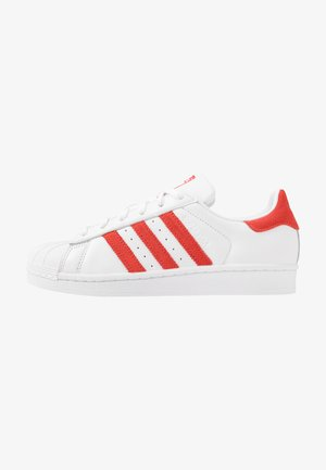 SUPERSTAR - Sneakers laag - footwear white/active red