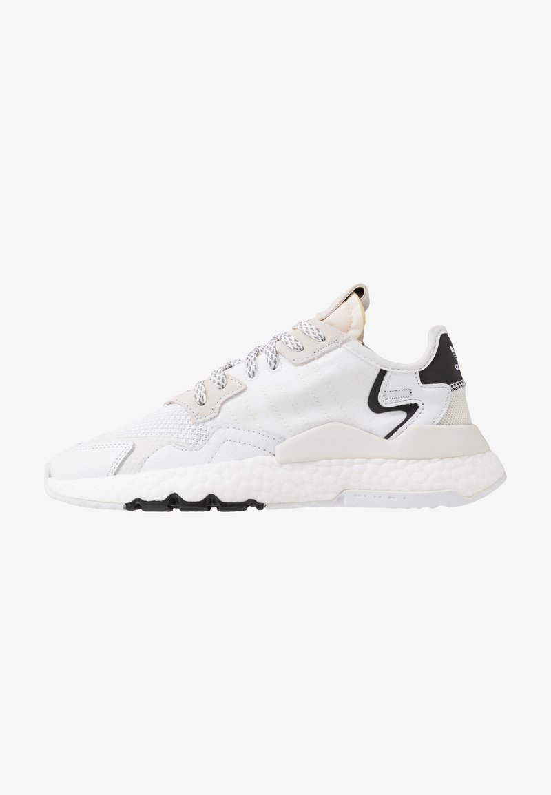 adidas Originals - NITE JOGGER - Sneakers laag - footwear white/crystal white