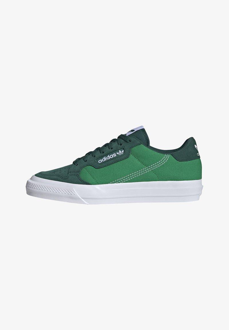 adidas Originals - CONTINENTAL VULC SHOES - Skate shoes - green