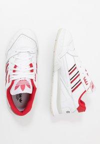 adidas Originals - TRAINER - Sneakers laag - footwear white/scarlet/core black - 1