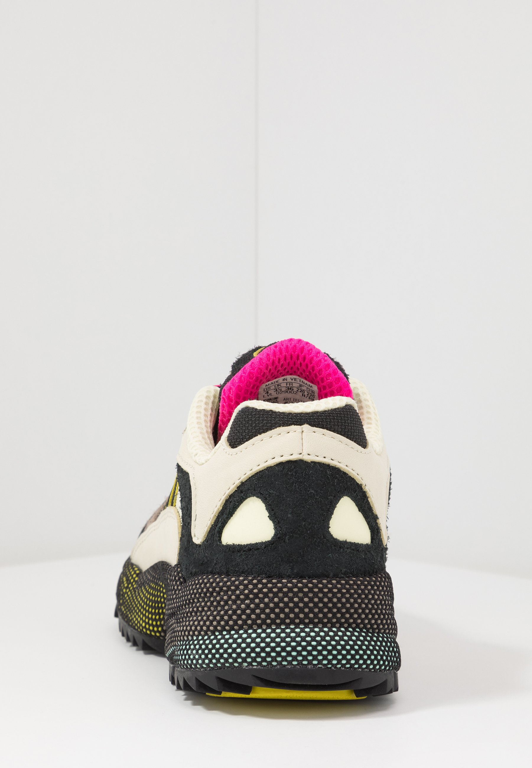 Adidas Originals Yung-1 - Sneakers Basse Sand/core Black/shock Pink wfjSwqv