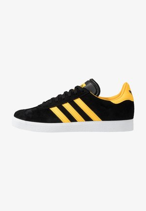 GAZELLE - Baskets basses - core black/bold gold/footwear white