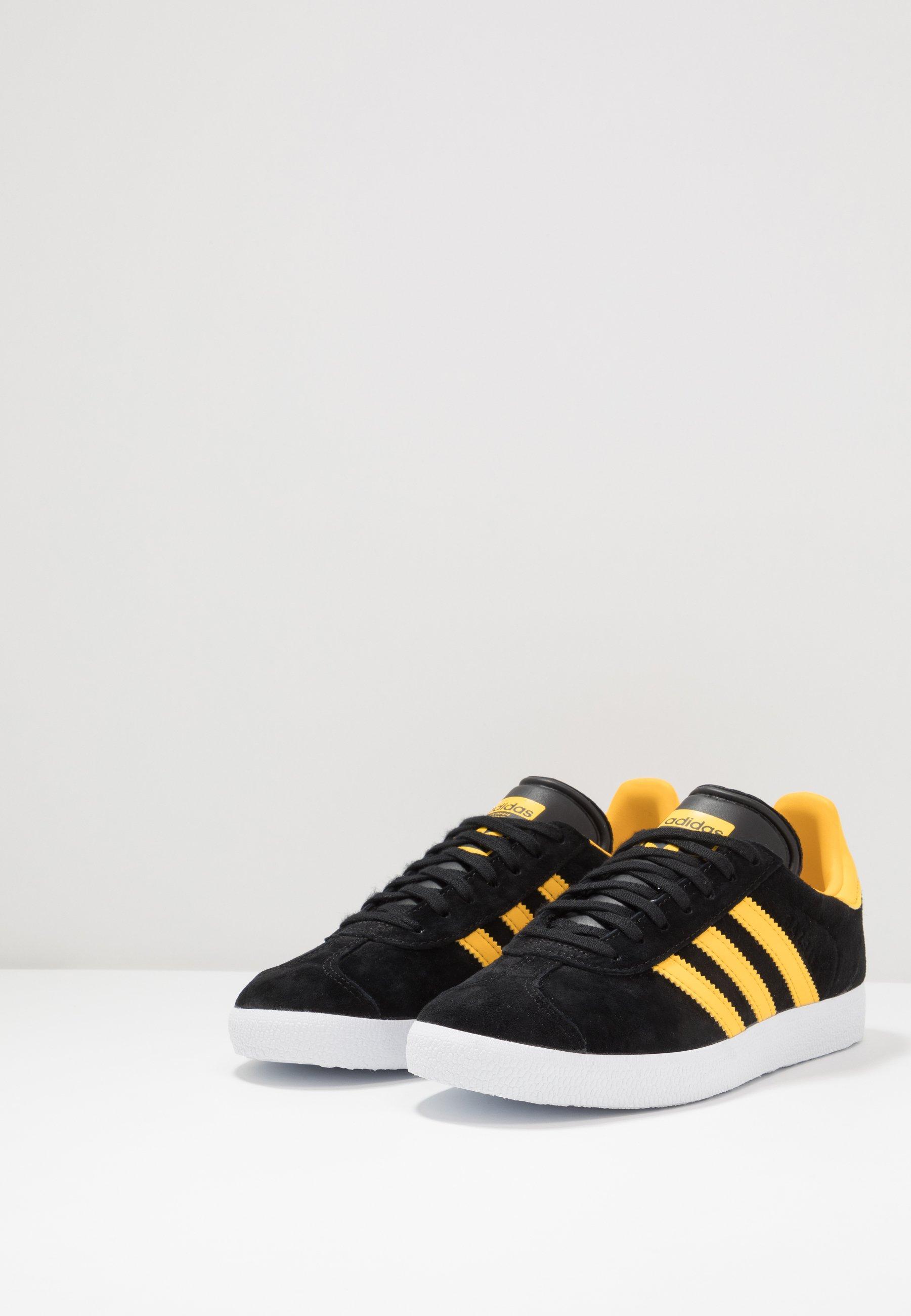 Adidas Originals Gazelle - Zapatillas Core Black/bold Gold/footwear White