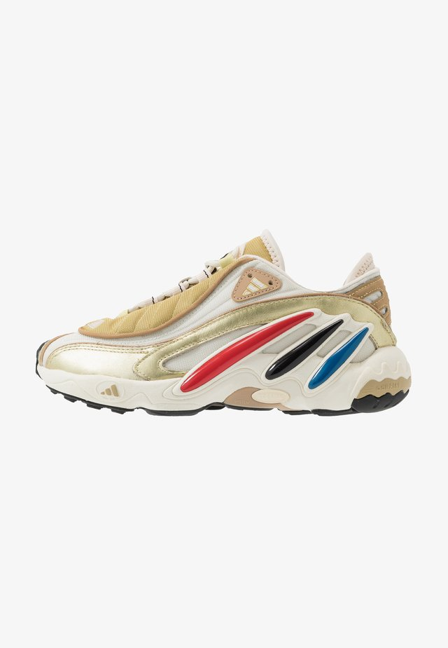 FYW 98 - Sneakersy niskie - gold metallic/offwhite/core black