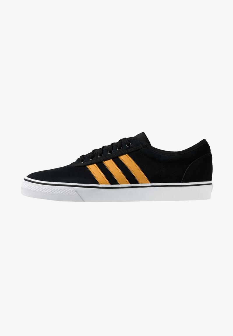adidas Originals - EASE - Sneakersy niskie - core black/tactile yellow/footwear white