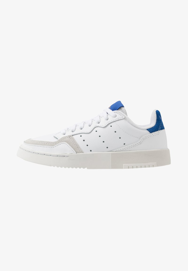 adidas Originals - SUPERCOURT - Sneakers - footwear white/royal blue