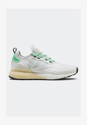 ZX 2K BOOST - Baskets basses - white/grey/ green