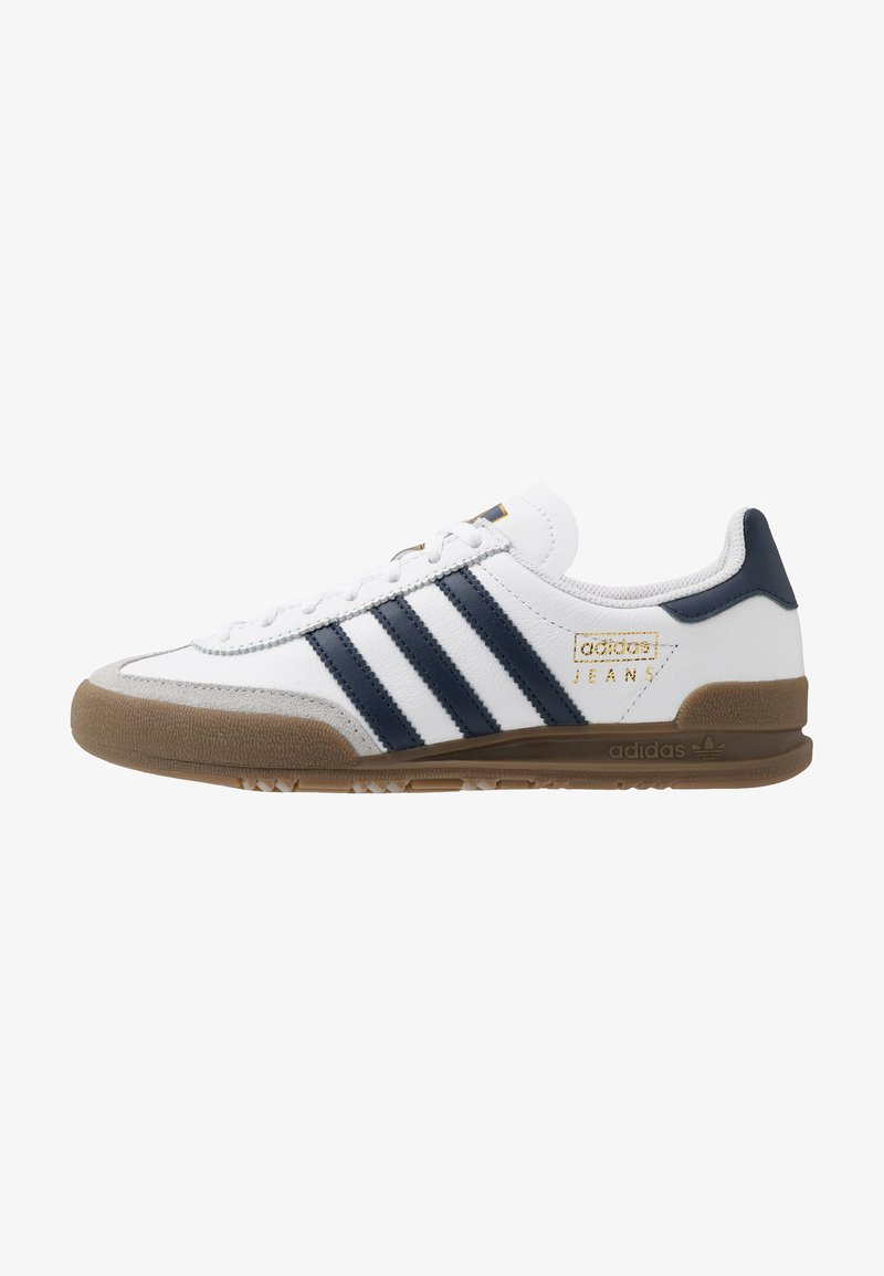 adidas Originals - JEANS - Trainers - footwear white/collegiate navy