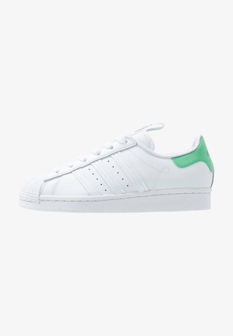 adidas Originals - SUPERSTAR - Sneakers laag - footwear white/prism mint/collegiate royal
