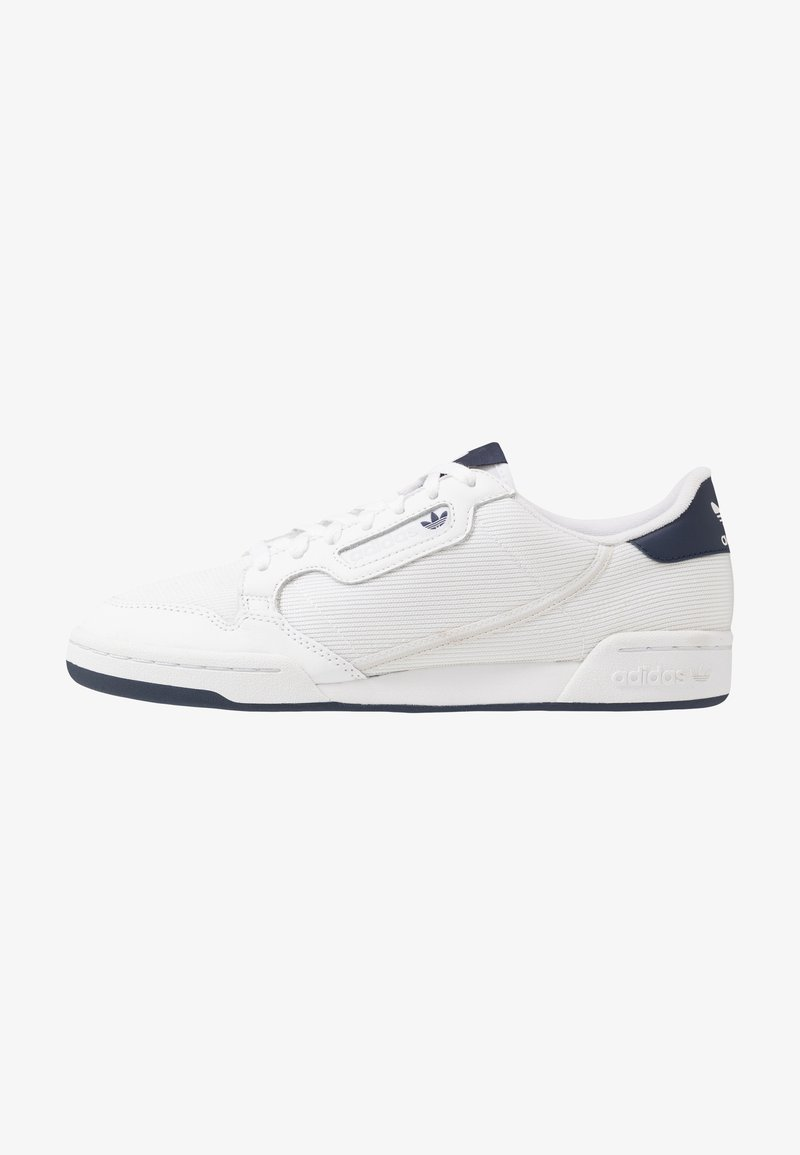 adidas Originals - CONTINENTAL 80 - Matalavartiset tennarit - footwear white/grey one/core navy
