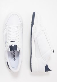 adidas Originals - CONTINENTAL 80 - Matalavartiset tennarit - footwear white/grey one/core navy - 1