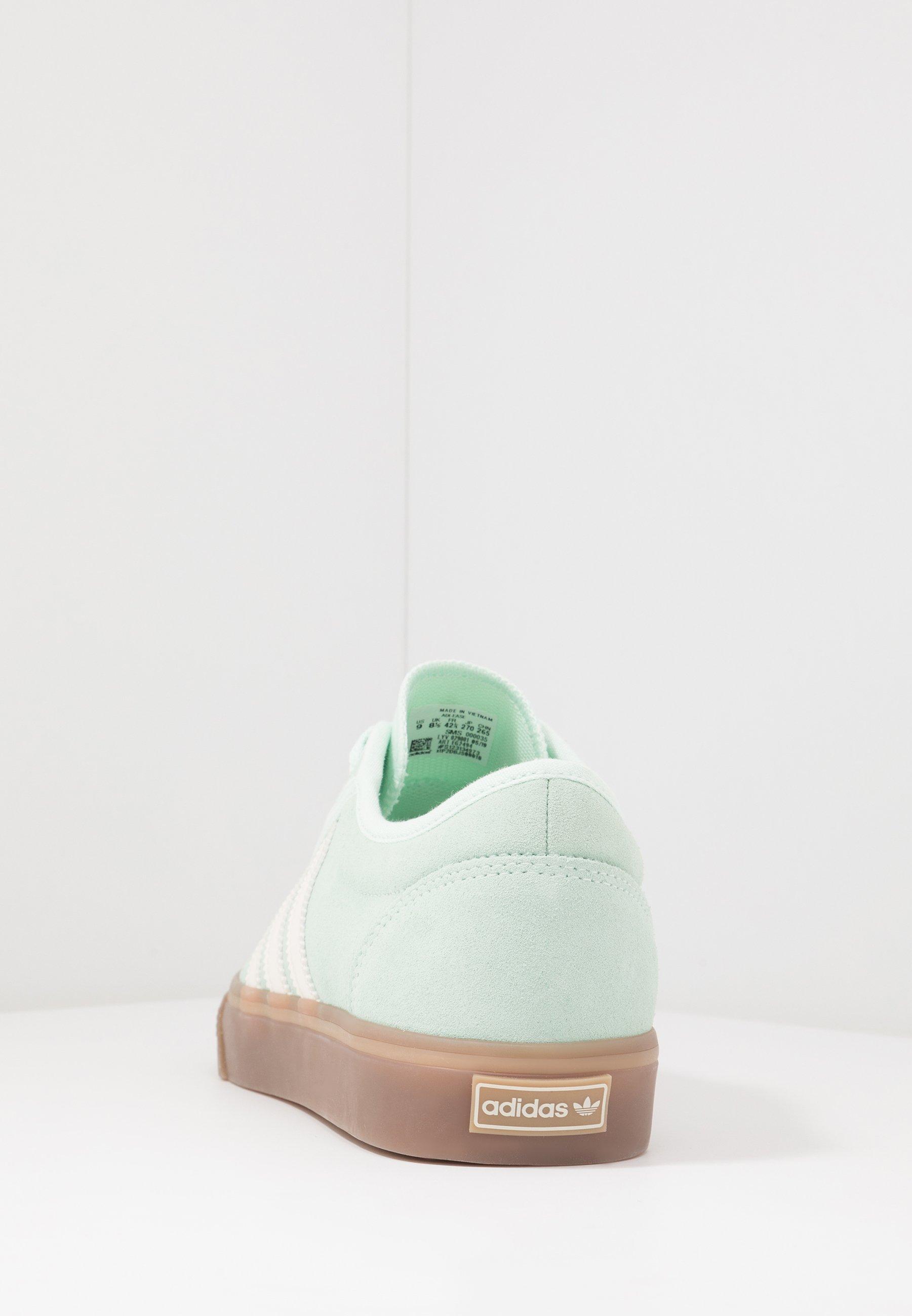 adidas Originals ADI-EASE - Baskets basses - dash green/chalk white