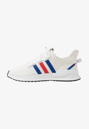 PATH RUN - Baskets basses - footwear white/royal blue/lush red