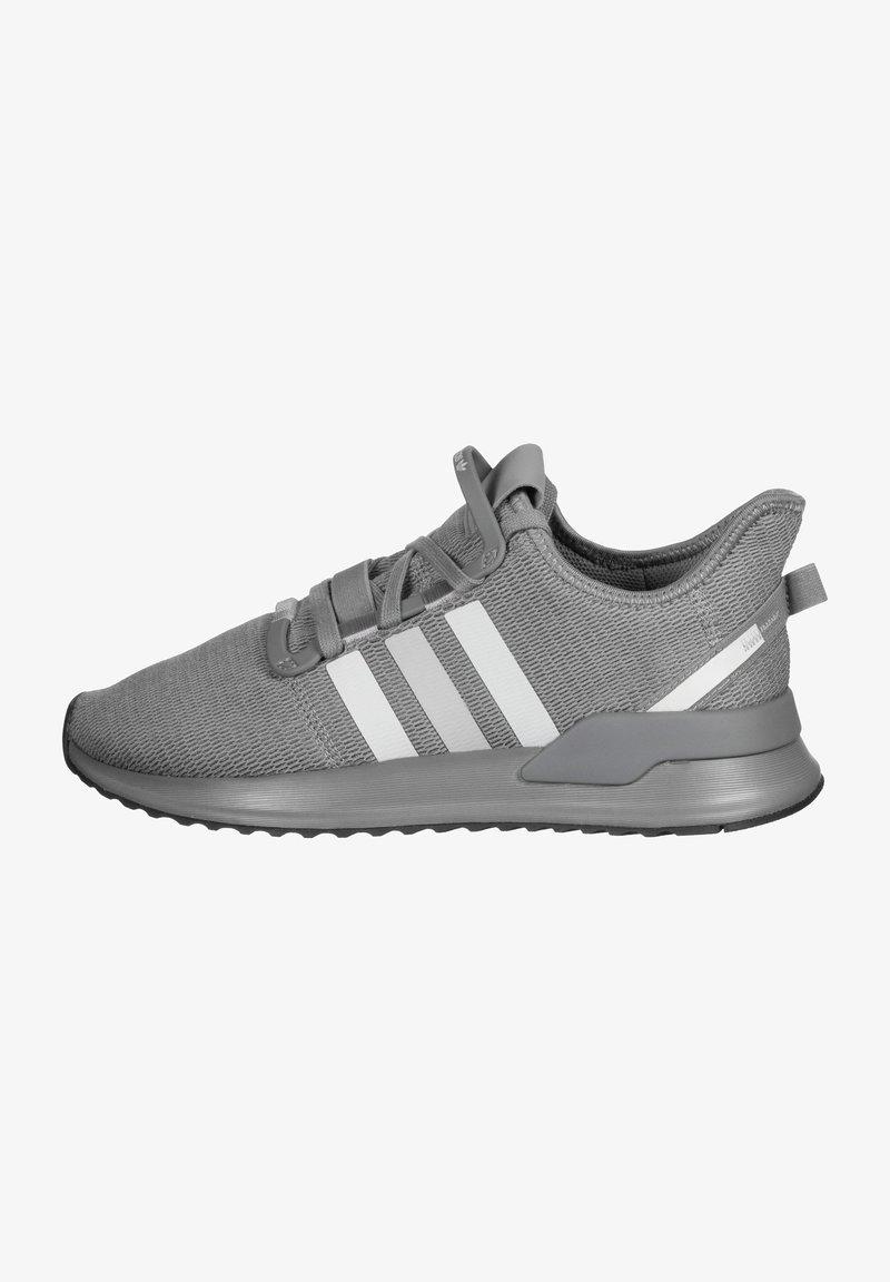 adidas Originals - PATH RUN - Sneakers laag - grey heather/green