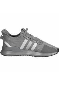 adidas Originals - PATH RUN - Sneakers laag - grey heather/green - 5