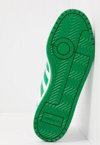 adidas Originals - TEAM COURT - Sneakers laag - footwear white/green/core black - 4