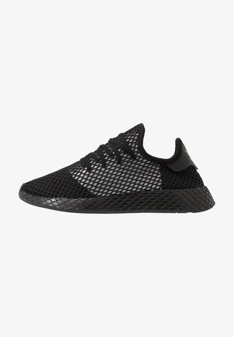 adidas Originals - DEERUPT RUNNER - Trainers - core black/silver metallic