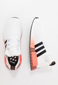 adidas Originals - NMD R1 - Trainers - footwear white/coreblack/solar red - 1