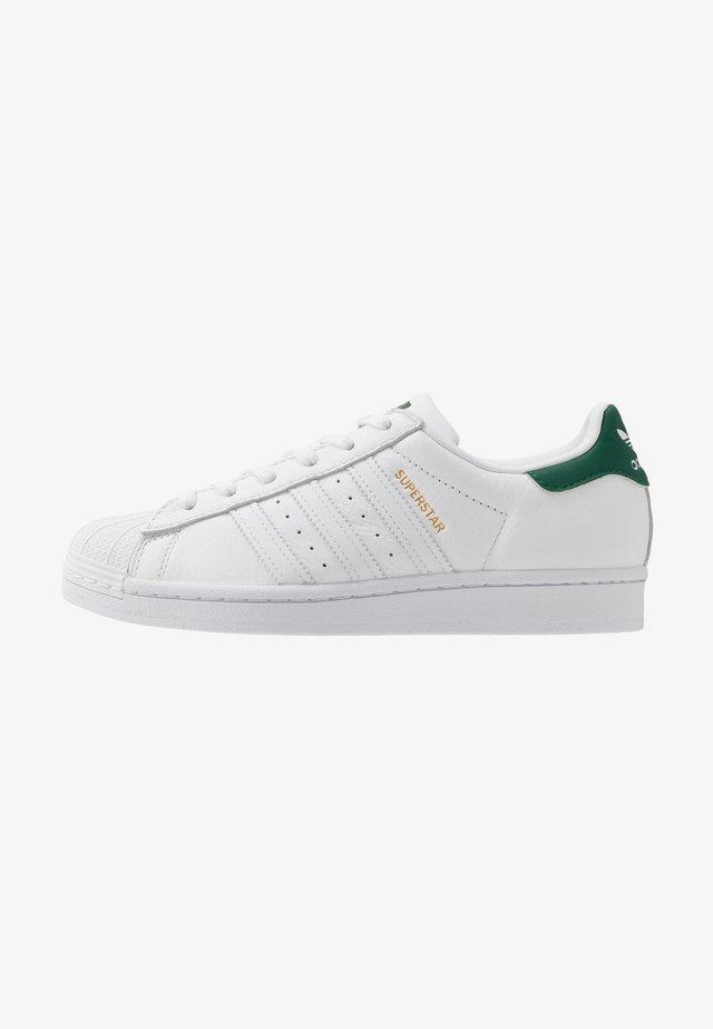 SUPERSTAR - Trainers - footwear white/collegiate green