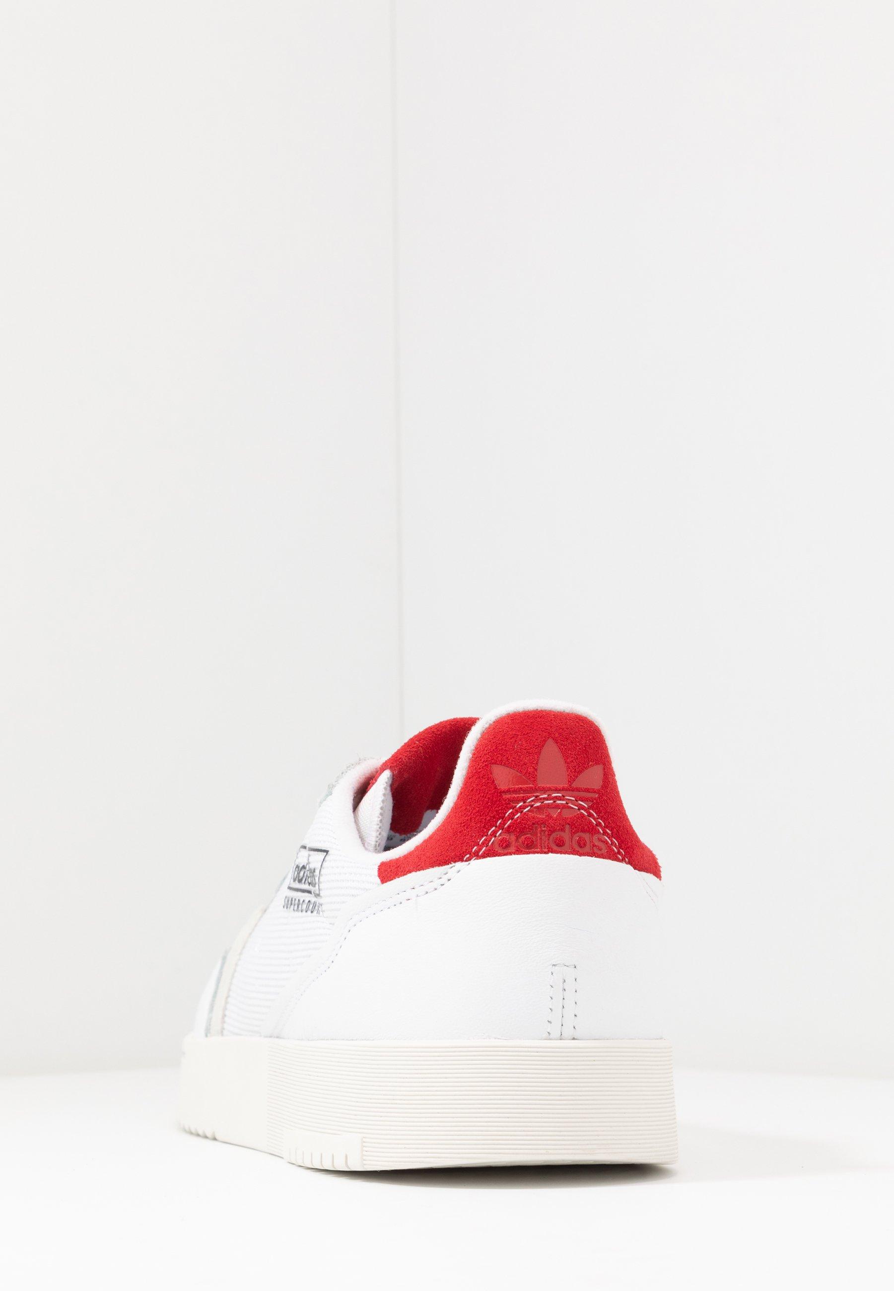 Adidas Originals Supercourt - Sneakers Laag Footwear White/scarlet Goedkope Schoenen