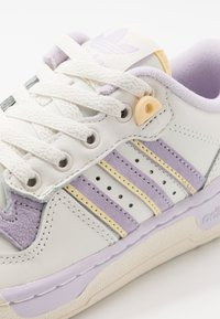 adidas Originals - RIVALRY - Sneakers laag - cloud white/offwhite/purple tint - 5