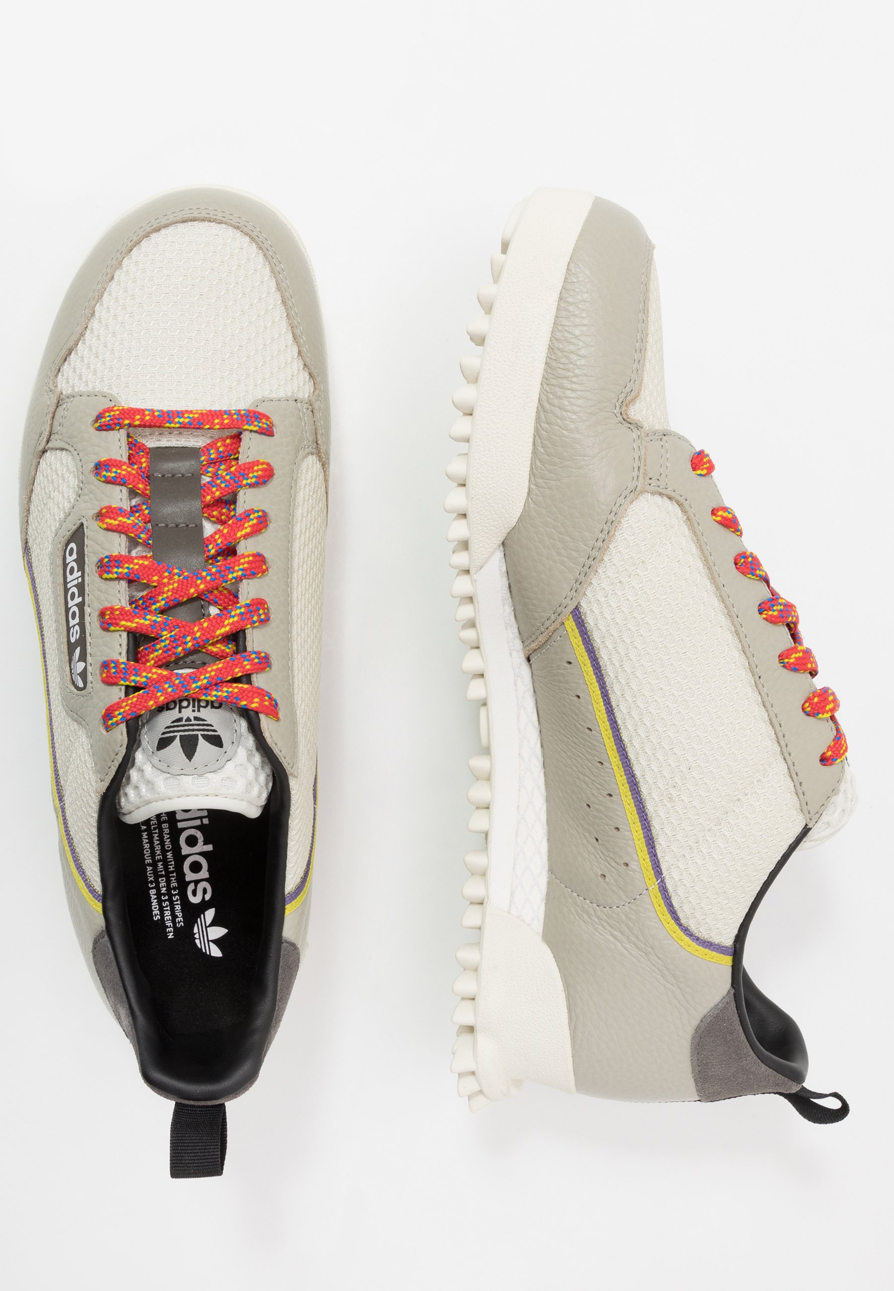 Adidas Originals Continental 80 Baara - Sneakers Basse Sesame/orbit Grey /core Black USaU9vz