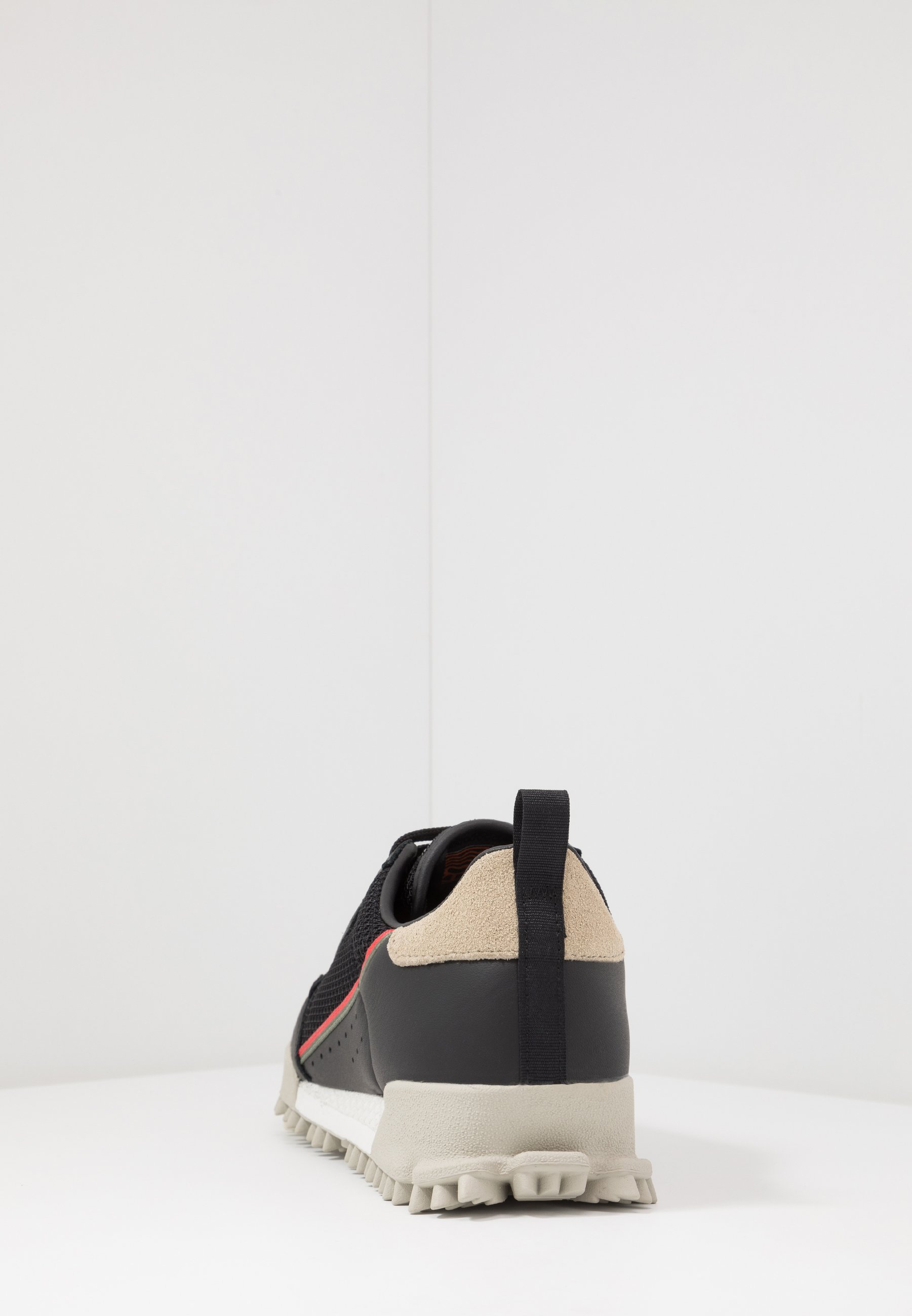 adidas Originals CONTINENTAL 80 BAARA - Sneakers basse - core black/glow red/orbit grey
