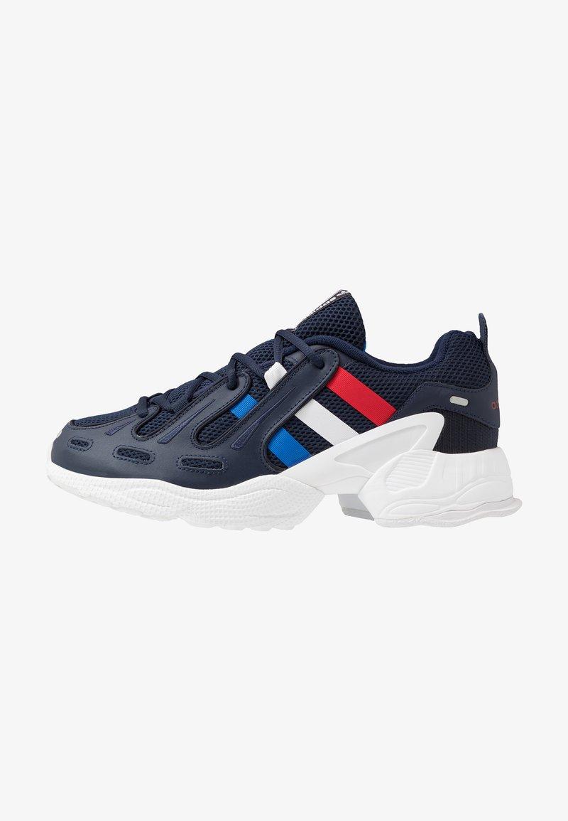 adidas Originals - GAZELLE - Trainers - collegiate navy/glow blue/scarlet
