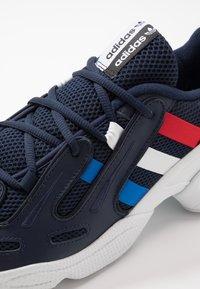 adidas Originals - GAZELLE - Trainers - collegiate navy/glow blue/scarlet - 5