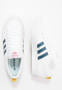 adidas Originals - NIZZA - Trainers - footwear white/legend marine/tribe yellow - 1