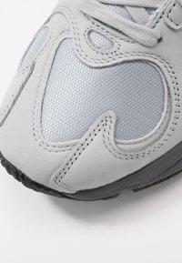 adidas Originals - YUNG-1 - Matalavartiset tennarit - silver metallic/night metallic/grey two - 5