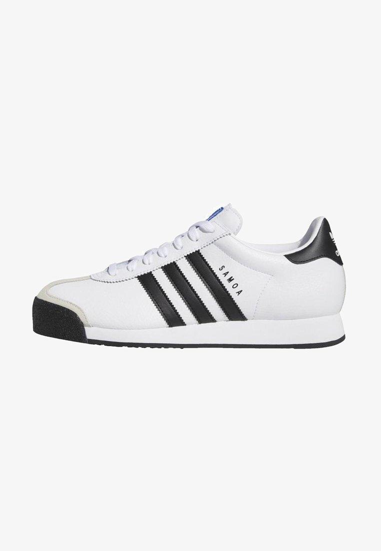 adidas Originals - SAMOA SHOES - Sneakers laag - white/black
