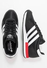 adidas Originals - USA 84 - Tenisky - core black/footwear white/scarlet - 1
