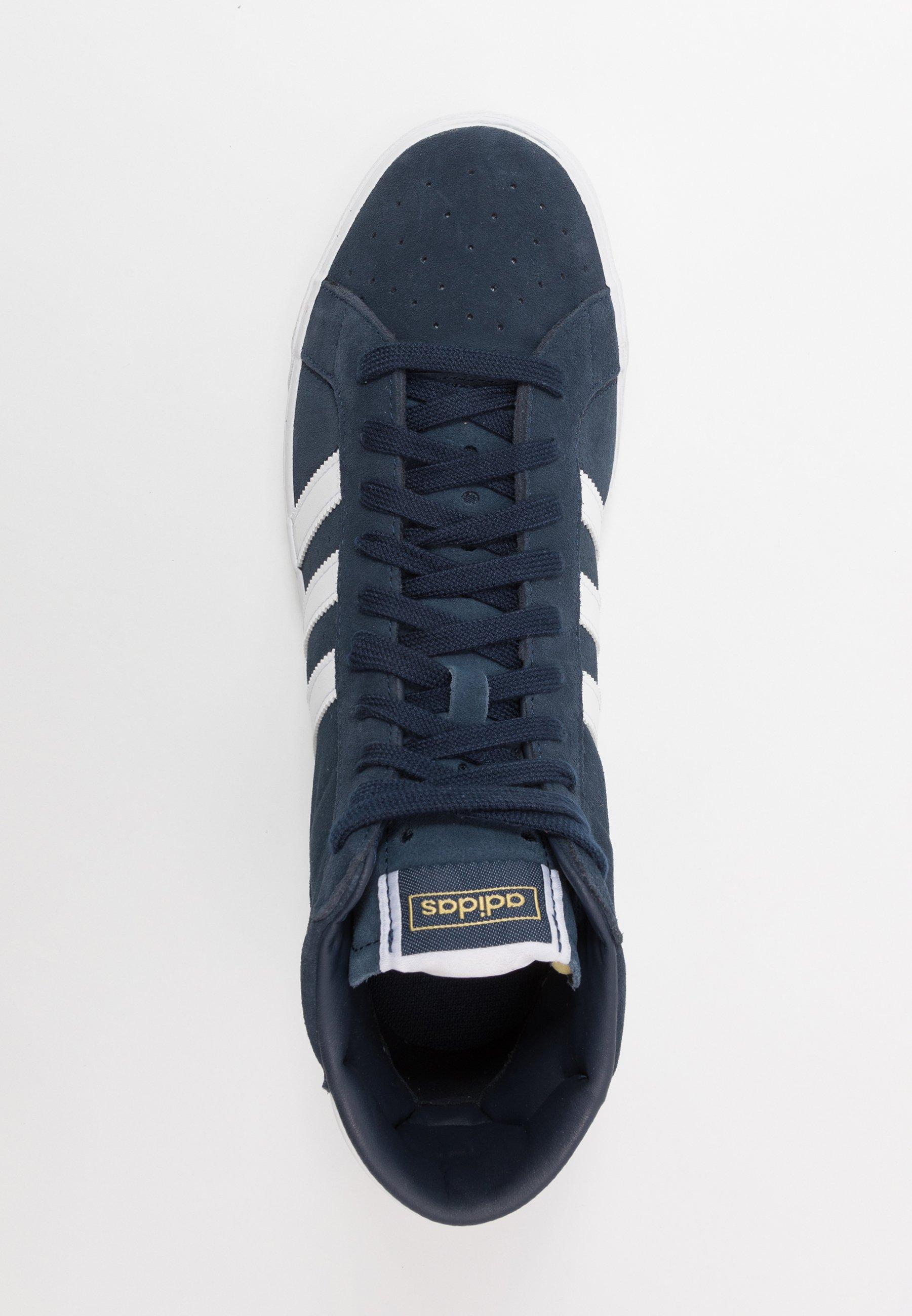 adidas Originals BASKET PROFI - Sneaker low - navy/footwear white/gold metallic kQOJMr