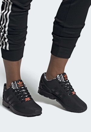 ZX FLUX SHOES - Sneakers laag - black