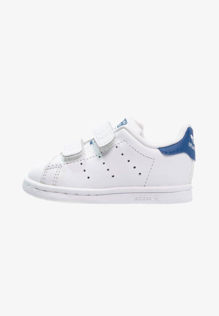 adidas Originals - STAN SMITH - Sneakers - weiß/blau