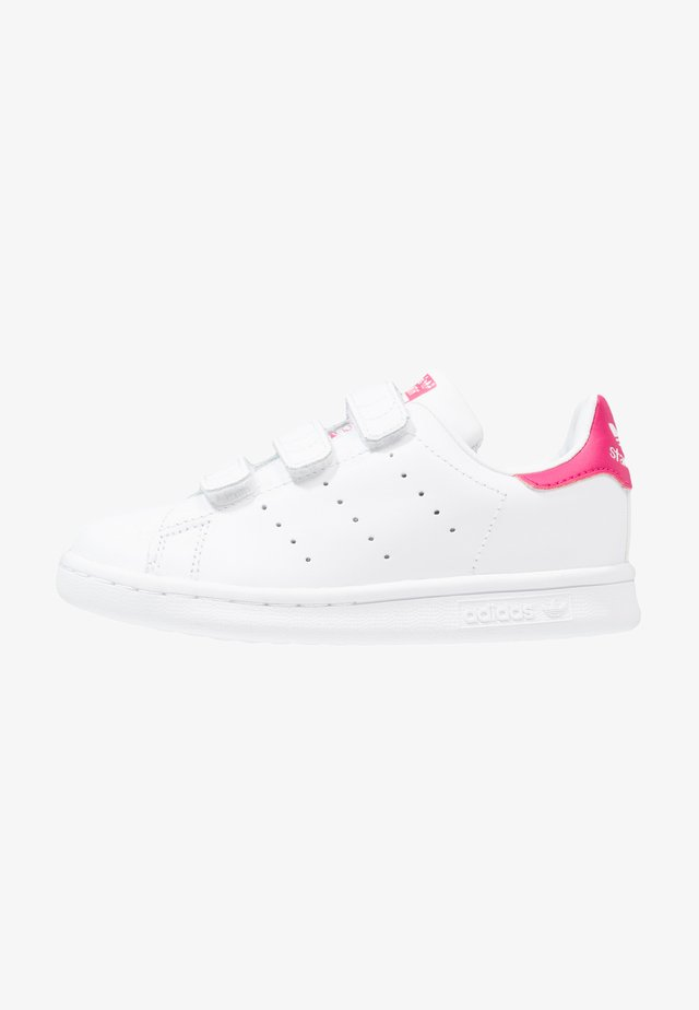 STAN SMITH - Baskets basses - white/bold pink